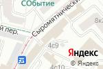 Схема проезда до компании Промтехаэро в Москве