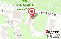 Схема проезда до компании Форком в Москве