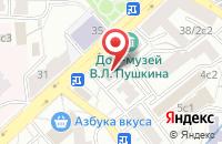 Схема проезда до компании Гала Мьюзик Вм в Москве