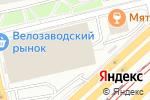 Схема проезда до компании Татьяна в Москве