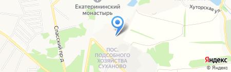 Усадьба Суханово на карте Суханово