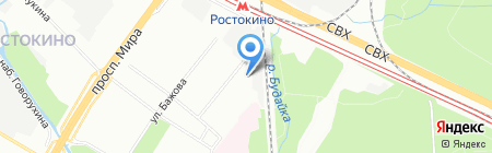 Будайский дворик на карте Москвы