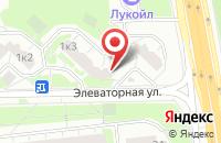 Схема проезда до компании Рсу-9 в Москве