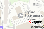 Схема проезда до компании Creative club в Москве