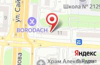 Схема проезда до компании Максо в Москве