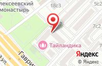 Схема проезда до компании Геострой в Москве