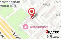Схема проезда до компании Перспектива в Москве