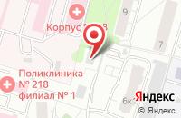 Схема проезда до компании Промактив в Москве