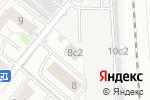 """Схема проезда до компании ЧОП """"Городская дружина"""" в Москве"""
