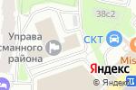 Схема проезда до компании Территориальная избирательная комиссия Басманного района в Москве