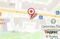 Схема проезда до компании Палет в Москве