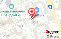 Схема проезда до компании Благовест в Москве