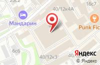 Схема проезда до компании Люксократ Медиа в Москве
