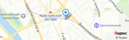 ТрансЛюкс на карте Москвы