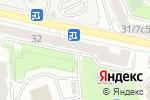 Схема проезда до компании АНК-Обувь в Москве