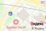 Схема проезда до компании СТК-СТРОЙ в Москве