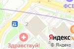 Схема проезда до компании Промышленный Резерв в Москве