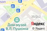 Схема проезда до компании Основа в Москве