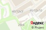 Схема проезда до компании Новь в Москве