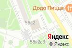 Схема проезда до компании Строймир в Москве