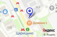 Схема проезда до компании ИНЖИНИРИНГОВАЯ ФИРМА ОРГГАЗОПРОМЫСЕЛ в Москве