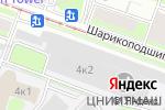 Схема проезда до компании Саткаст в Москве