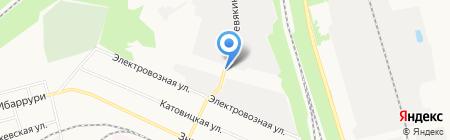 Любимый на карте Донецка