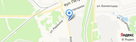 Нептун на карте Донецка