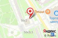 Схема проезда до компании Монолит-домстрой в Москве