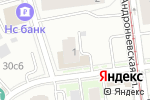 Схема проезда до компании Общежитие в Москве