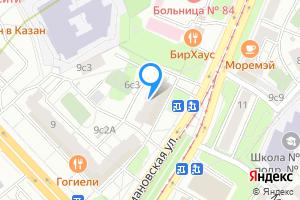 Снять комнату в трехкомнатной квартире в Москве Абельмановская ул., 6