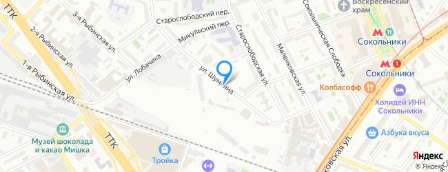 улица Шумкина