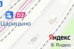 Схема проезда до компании Два брелка в Москве