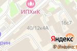 Схема проезда до компании Lina в Москве
