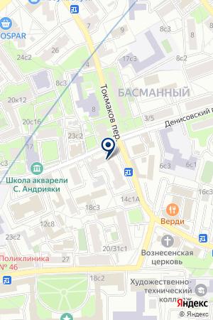 ТФ MELVIN & HAMILTON на карте Москвы