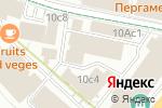 Схема проезда до компании TEA STATION в Москве