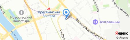 ЛесДомстрой на карте Москвы