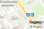 Схема проезда до компании ВетЛек в Москве