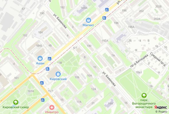 жилой комплекс по ул. Баженова