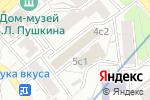 Схема проезда до компании Центральный отряд в Москве