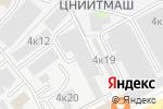 Схема проезда до компании Extory Sport в Москве
