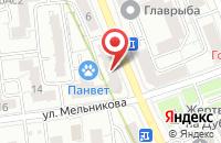 Схема проезда до компании Стройцентр в Москве