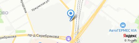 ТФСистемс на карте Москвы