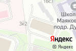 Схема проезда до компании Пересвет в Москве