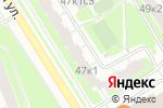Схема проезда до компании Сэйвар 21 век в Москве