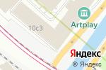 Схема проезда до компании ЕвроСтоун в Москве