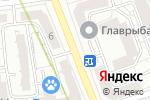 Схема проезда до компании Сервис Азия в Москве