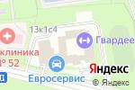Схема проезда до компании Фактор Тепла в Москве