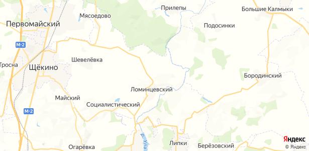 Шахты-22 на карте