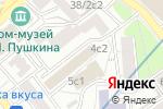 Схема проезда до компании Fox Sound в Москве